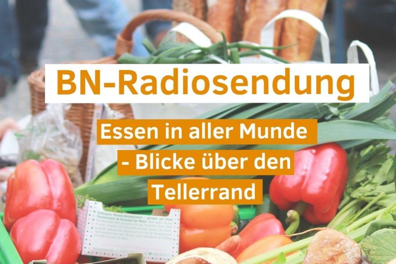 Podcast: Essen in aller Munde – Blicke über den Tellerrand