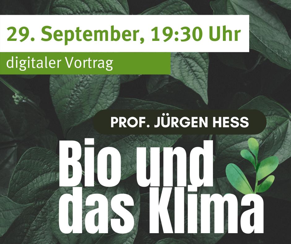 Bio und das Klima: Hält Bio was es verspricht?